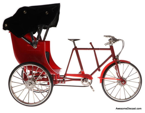 1:10 3 Wheel Rickshaw, Red