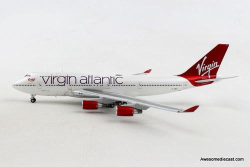 Gemini Jets 1:400 Boeing 747-400: Virgin Atlantic REG# G-VBIG