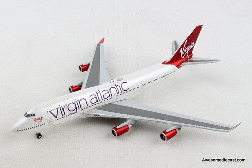Gemini Jets 1:400 Boeing 747-400: Virgin Atlantic REG# G-VBIG