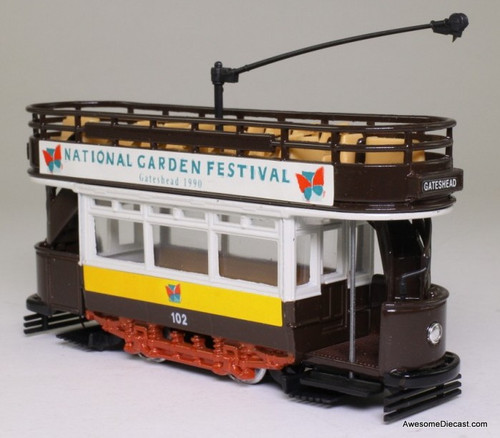 Corgi 1:72 Double Decker Tram 'National Garden Festival Gateshead 1990'