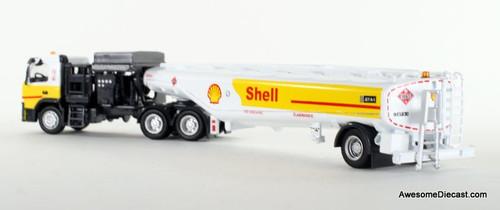 Iconic Replica 1:87 Volvo FM500 w/ Aviation Fueling Tanker: Shell Aviation