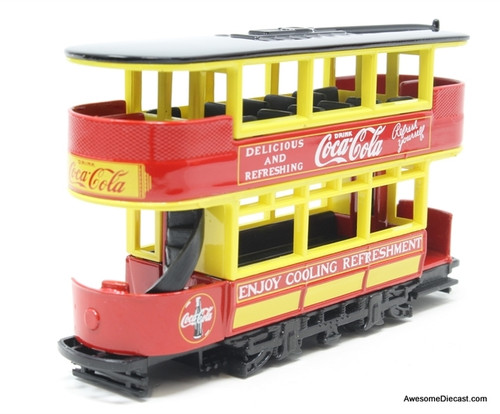 Matchbox 1:87 Double Decker Tram 'Coca Cola'