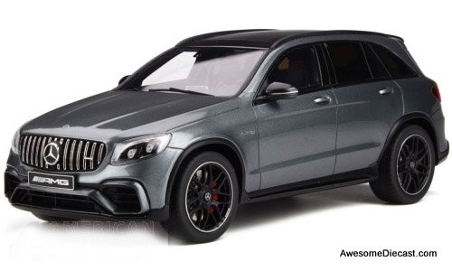 GT Spirit 1:18 2017 Mercedes GLC 63 S, Metallic Grey