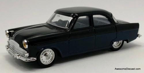 Corgi 1:43 1956  Ford Zodiac Sedan, Black/Blue
