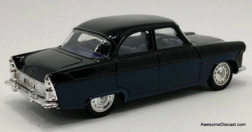 Corgi 1:43 1956  Ford Zodiac Sedan, Black/Blue