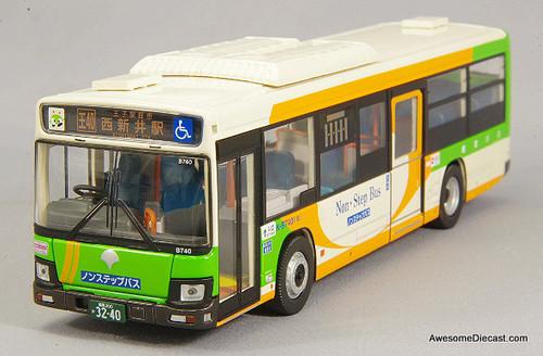 Tomica 1:64 LV-N139 Isuzu Erga Transit Bus: Tokyo