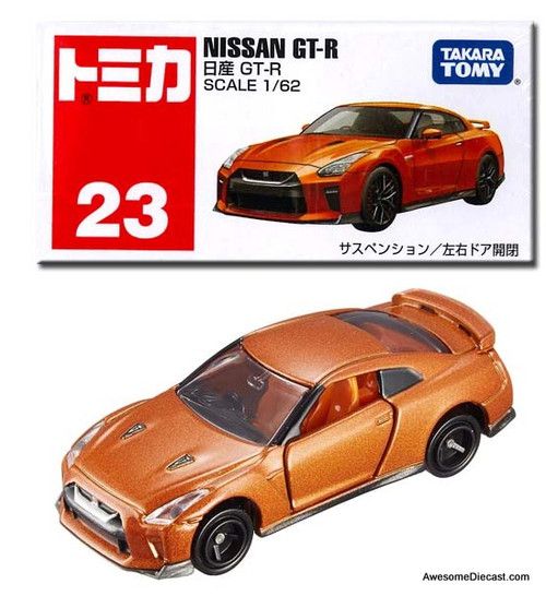 Tomica 1:62 Nissan GT-R Coupe, Bronze