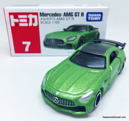 Tomica 1:65 Mercedes AMG GT R Coupe, Green