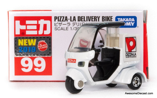 Tomica 1:39 Pizza-La Delivery Bike