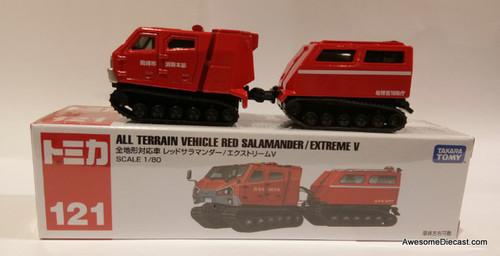 Tomica 1:80 All Terrain Vehicle Red Salamander Extreme V