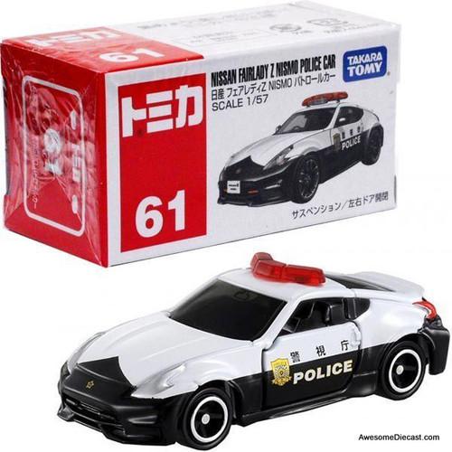 Tomica 1:57 Nissan Fairlady Z Nismo Police Car
