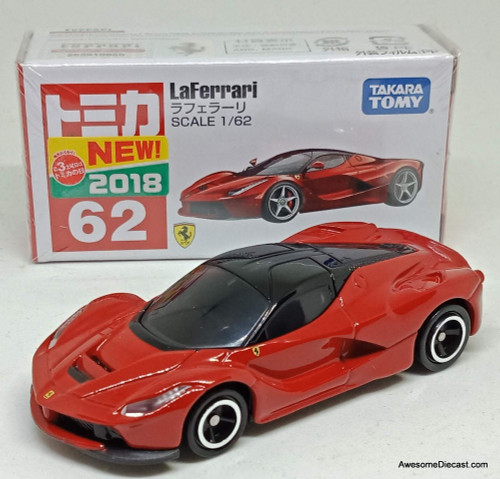 Tomica 1:62 LaFerrari Coupe, Red