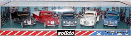 Solido 1:43 1950 Golden Age of Dodge 5 Truck Set