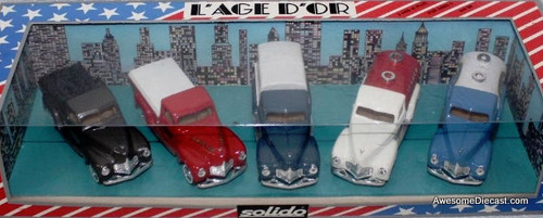 Solido 1:43 1950 Dodge L'age D'or 5 Truck Set