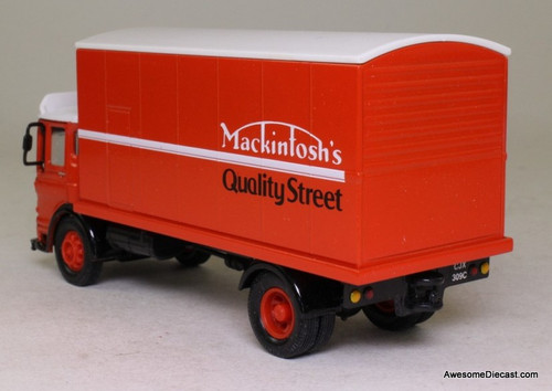 Corgi 1:50 AEC Truck Ergomatic Cab 4 Wheel Rigid Box Van 'Mackintosh's Quality Street'