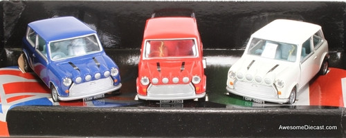 Corgi 1:43 The Italian Job, 3 Piece Mini Cooper Set