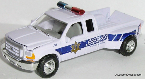 Racing Champions 1:67 1999 Ford F-350 'Tuscaloosa County AL Sheriff'