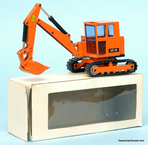 NZG 1:35 Pelle Hydraulic Schaeff HR26 Excavator, Orange