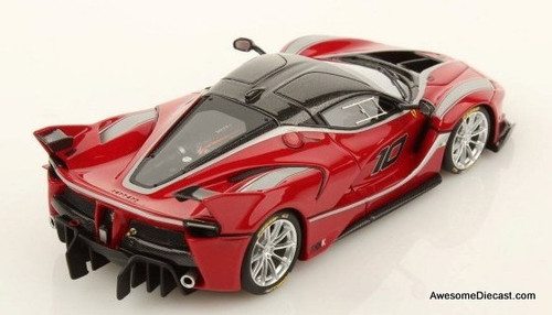 Look Smart 1:43 Ferrari  FXX-K Race Car, Red
