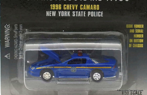 Racing Champions 1:59 1996 Chevrolet Camaro 'New York State Police'