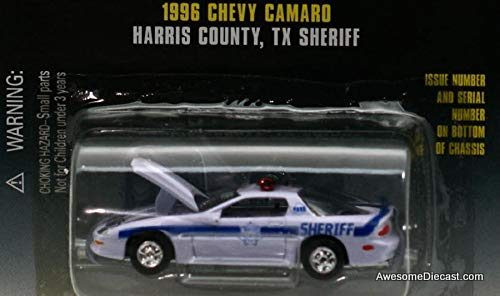 Racing Champions 1:59 1996 Chevrolet Camaro 'Harris County TX Sheriff'