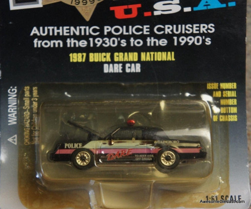 Racing Champions 1:61 1987 Buick Grand National 'Dare car'