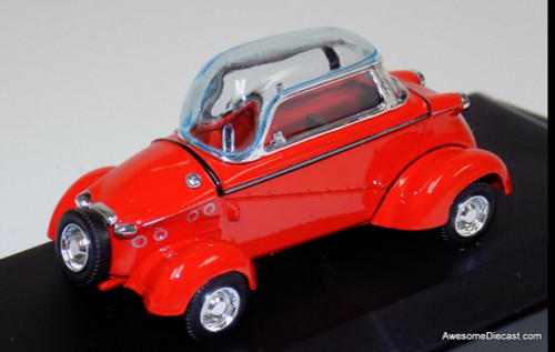 Vitesse 1:43 1958 Messerschmitt Tiger Kabinroller, Red