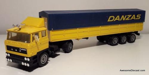 Only One! Solido Toner Gam 111 Daf Savoyarde Tractor/trailer: Danzas