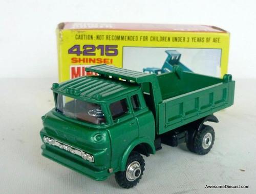 RARE Shinsei 1:60 GMC Tilt-Cab Dump Truck