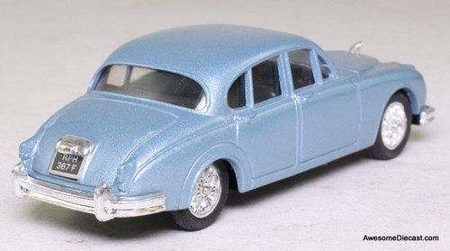 Corgi 1:43 Jaguar MK11 Sedan, Light Blue