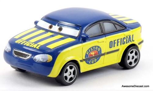 Mattel Disney Cars ' Race Official Tom'