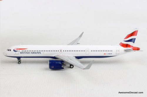 Gemini Jets 1:400 Airbus A321 'British Airways'