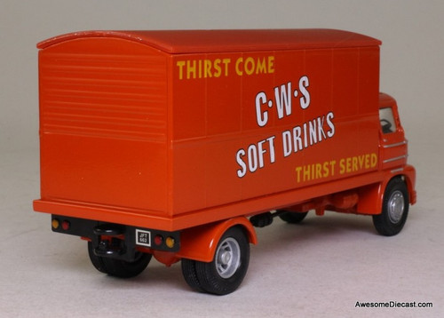Corgi 1:50 Foden S21 Mickey Mouse Box Truck 'CWS Soft drinks'