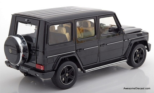 Iscale 1:18 Mercedes Benz G-Wagon, Black