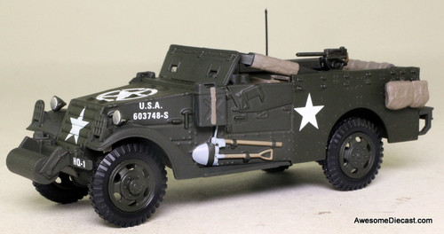 Atlas 1:43 1944 USA M3 Scout Car Carrier