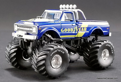 ACME 1:64 1970 Chevrolet K-10 Monster Truck: Goodyear