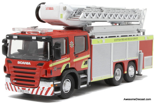 Oxford Diecast 1:76 2009  Scania Fire Aerial:  ARP Scottish Fire And Rescue Services