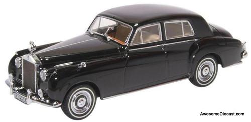 Oxford Diecast 1:43 1963 Rolls Royce Silver Cloud 1 RHD, Black