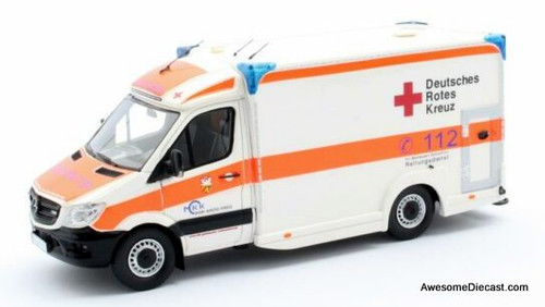Matrix 1:43 2018 Mercedes Benz Sprinter CDi Ambulance: German Red Cross