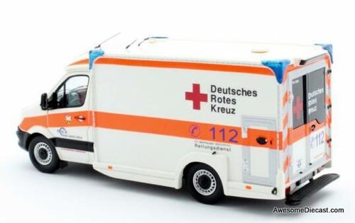Matrix 1:43 2018 Mercedes Benz Sprinter CDi Ambulance: German Red Cross