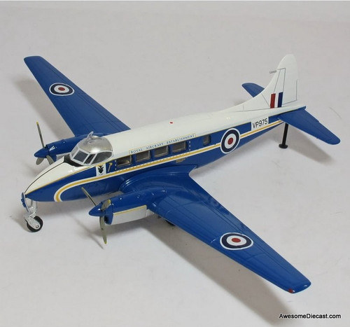 Oxford 1:72 De Havilland 104 Devon C1 VP975 Royal Aircraft Establishment