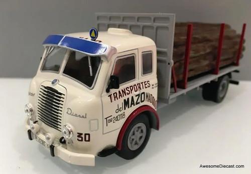 IXO Altaya 1:43 Pegaso 11 Z-202 Stake Truck: Transport Company of Madrid
