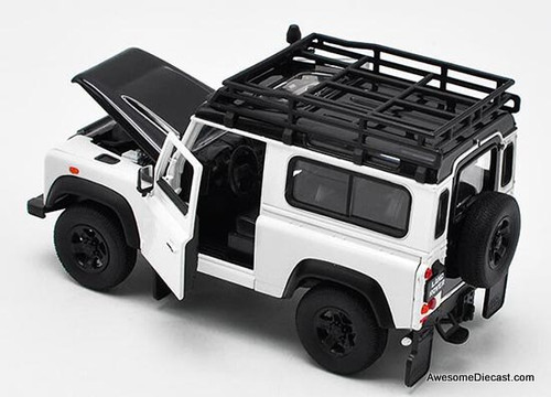 Welly 1:24 Land Rover Defender, White