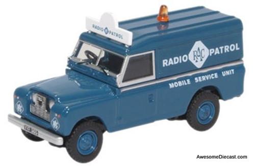 Oxford 1:76 Land Rover Series 11 LWB: RAC Radio Patrol