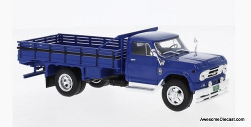 WhiteBox 1:43 1960 Chevrolet C60 Tipper Stake Truck, Blue