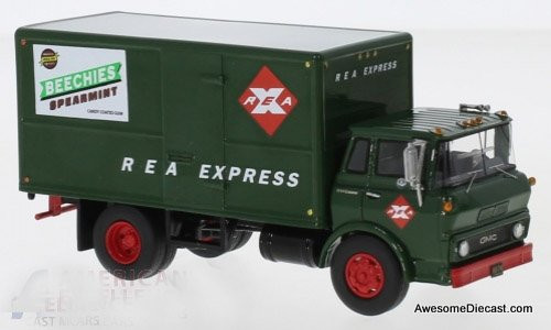 NEO 1:64 1960 GMC Steel Tilt Cab Box Truck: REA Express