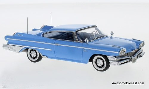 NEO 1:43 1960 Dodge Polara Coupe, Blue