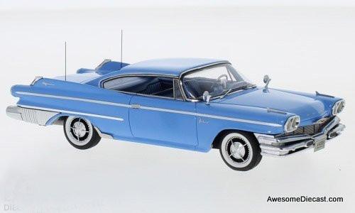 NEO 1:43 1960 Dodge Polara Coupe, Blue