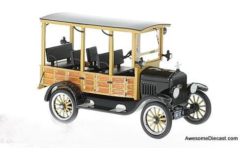 NEO 1:43 1925 Ford Model T Depot Hack, Black