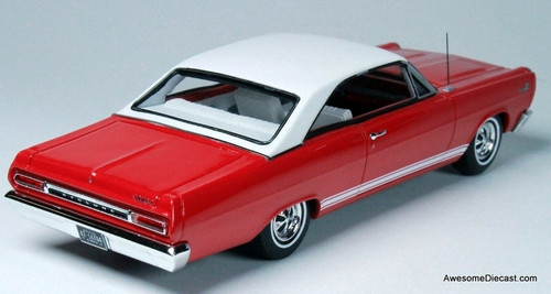 Goldvarg Collection 1:43 1966 Mercury Comet Coupe, Red
